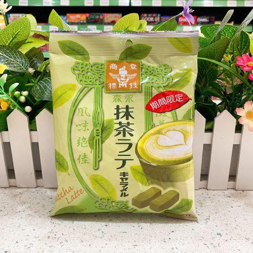 日本森永太妃糖海盐特浓抹茶软糖79g(袋装)