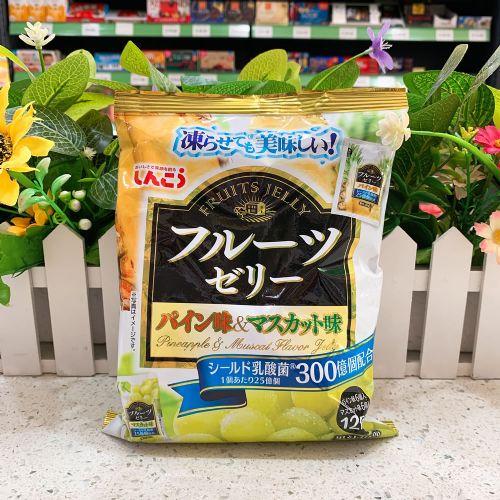 日本真光果冻12个(菠萝青提味)