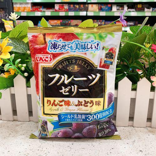 日本真光果冻12个(提子苹果味)