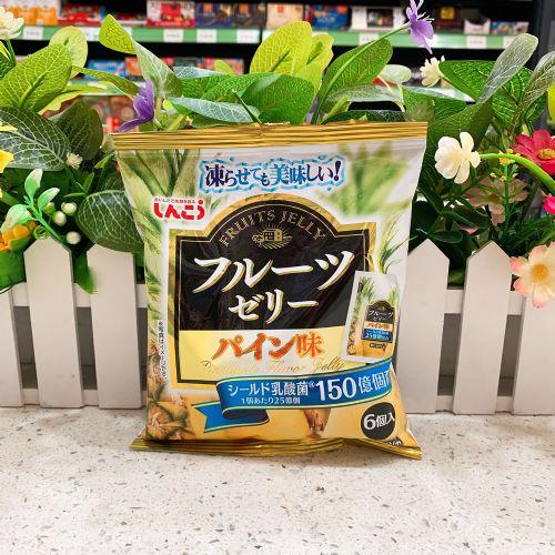 日本真光果冻6个(菠萝味)