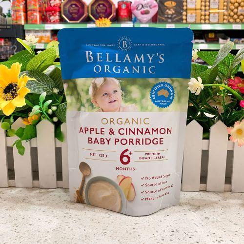 澳洲贝拉米苹果肉桂米粉奶糊125g(6个月以上)
