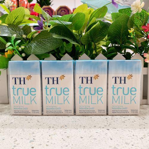 越南TH TRUE 全脂牛奶110ml×4盒
