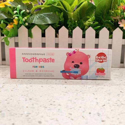 韩国啵乐乐儿童牙膏80g(草莓味)