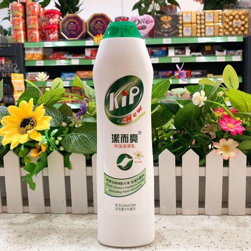 洁而亮特强清洁乳500ml(百合清香)