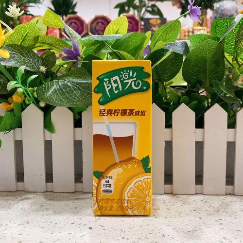 国产阳光柠檬茶饮料250mL