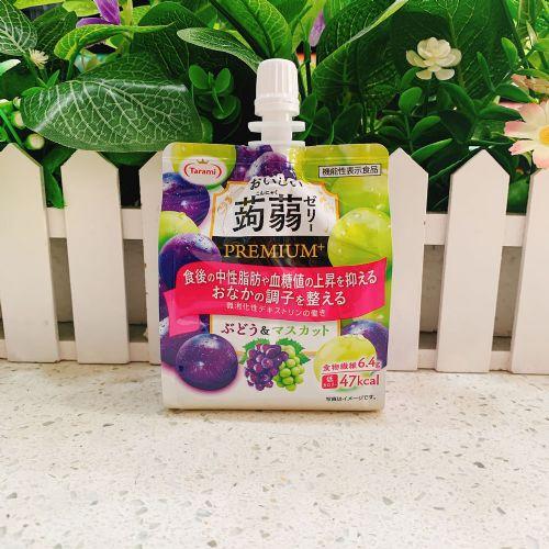 日本Tarami葡萄青提可吸果冻(�X�m)150g