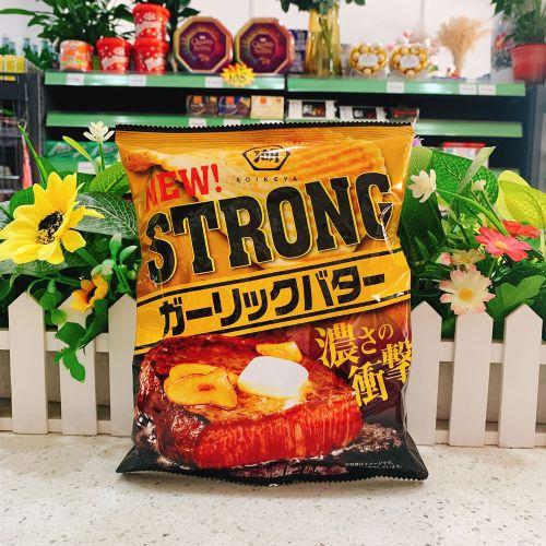 日本湖池屋浓厚冲击牛油芝士薯片56g(袋装)