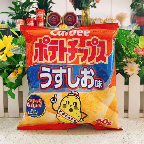 日本卡乐B盐味薯片60g(袋装)