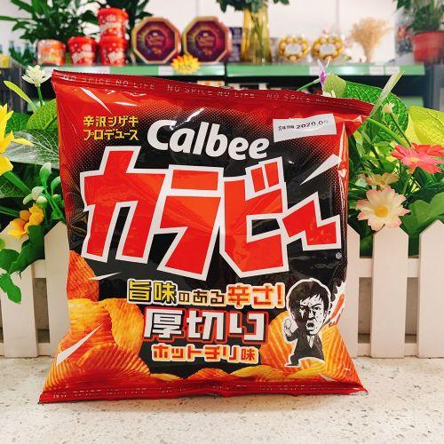 日本卡乐B 辛辣厚切波浪薯片55g(袋装)