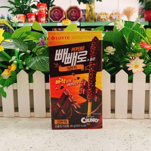 韩国乐天脆米棒百利滋饼干39g