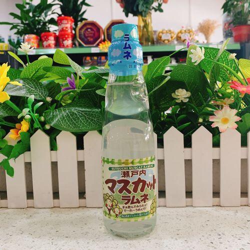 日本齐藤波子汽水(提子味)200ml