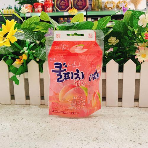 韩国海太水蜜桃味软糖50g