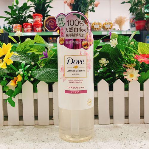 日本DOVE多芬植萃直顺防开叉洗发乳 500g
