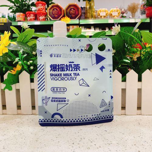 果遇茶爆摇奶茶固体饮料53g(蜜香奶茶)