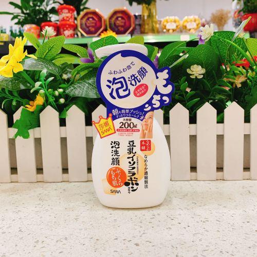 日本sana豆乳洗面奶女深层清洁补水保湿控油泡沫洁面乳温和卸妆