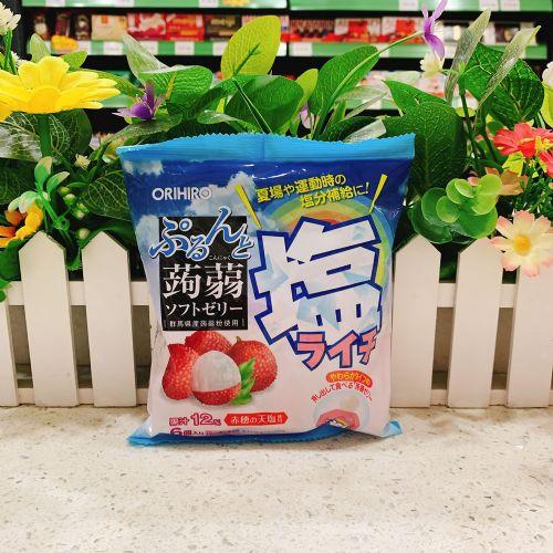 日本ORIHIRO荔枝盐味�X�m6个(袋装)
