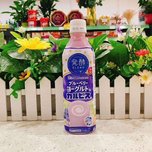 日本朝日蓝莓味乳酸菌饮料500ml
