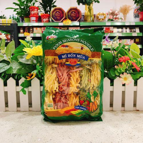 越南ERCI蔬福熙珍菜面500g(粗)