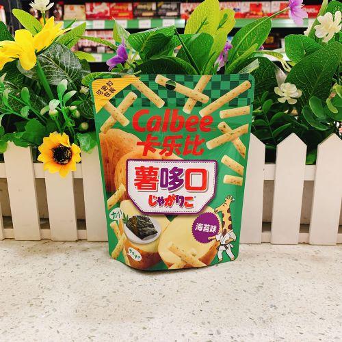 日本卡乐B海苔味薯条35g