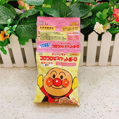 日本不二家面包超人小馒头饼干64g(4连袋)