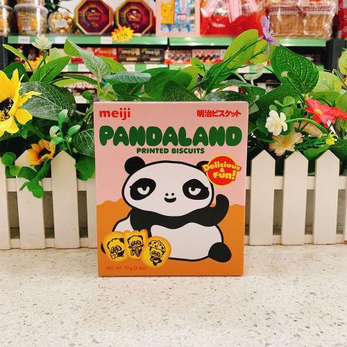 明治熊猫乐园饼干70g