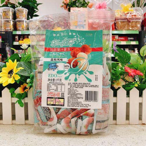EDO Pack �X�m果汁果冻(荔枝风味)1kg