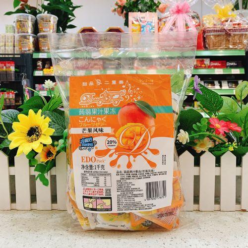 EDO Pack �X�m果汁果冻(芒果风味)1kg