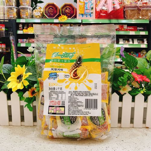 EDO Pack �X�m果汁果冻(凤梨风味)1kg