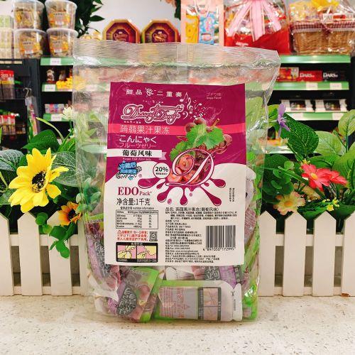 EDO Pack �X�m果汁果冻(葡萄风味)1kg