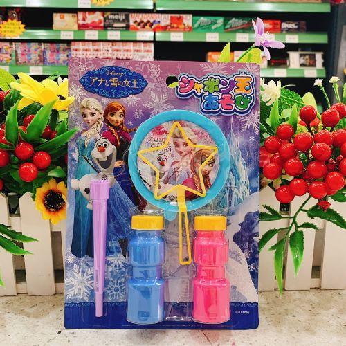 日本成近屋冰雪奇缘泡泡玩具2个(排装)