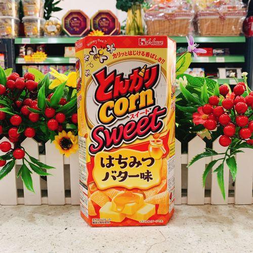 日本House蜂蜜牛油粟米筒75g(六角盒)