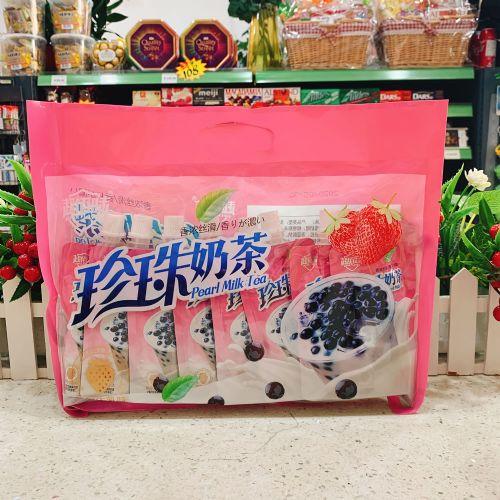 超佰味珍珠奶茶吸吸冻560g(草莓牛乳味)