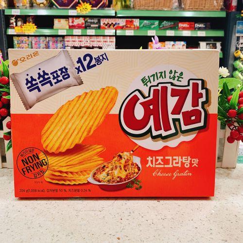 韩国好丽友芝士味薯片204g