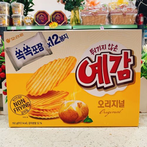 韩国好丽友原味薯片204g