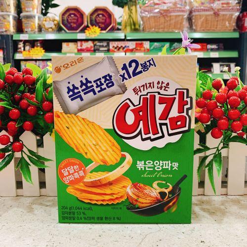 韩国好丽友洋葱味薯片204g