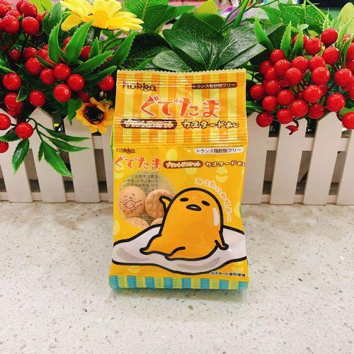 日本北陆蛋黄哥吉士味饼干56g(4连装)