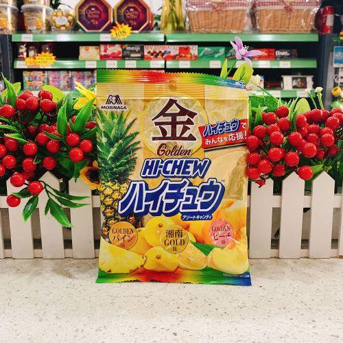 日本森永HI-CHEW金之水果软糖77g(袋装)