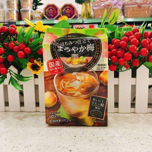 日本日东红茶蜂蜜青梅冲剂10本(企袋)