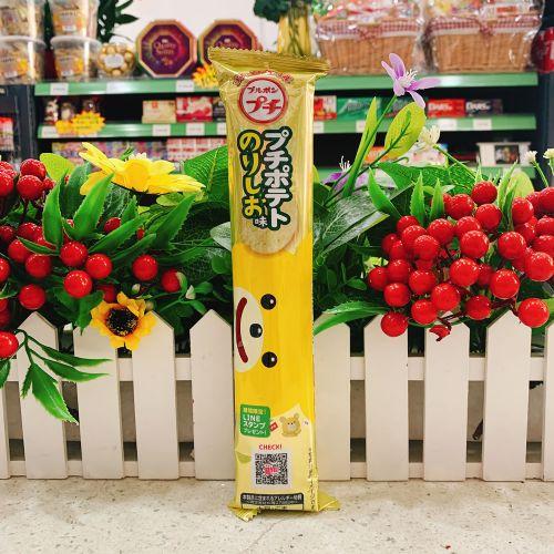 日本高邦一口海苔盐薯片45g(条装)