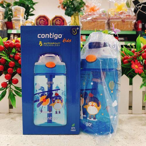 Contigo悠享每刻小发明家儿童吸管杯400ml(小飞行员)