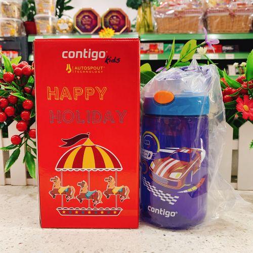 Contigo悠享每刻小发明家儿童吸管杯400ml(赛车2)