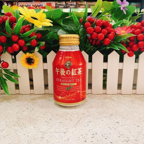 日本麒麟罐装午后红茶280ml