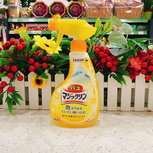 日本花王浴室浴缸多用清洁剂洁380ml(柑橘香)