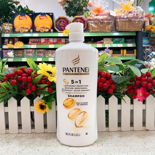 美国潘婷五合一植物精华洗发水1.13L