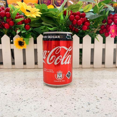 港版迷你零度可口可乐汽水200ml