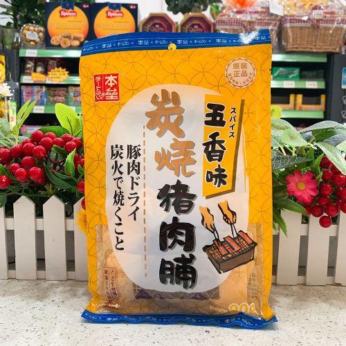 本垒炭烧猪肉干(五香味)90g