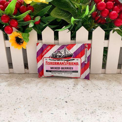 渔夫之宝无糖润喉糖(袋装)什莓味25g