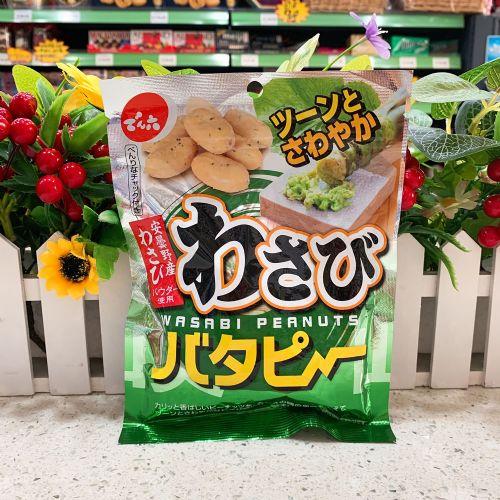 日本荃六芥辣花生100g(袋装)