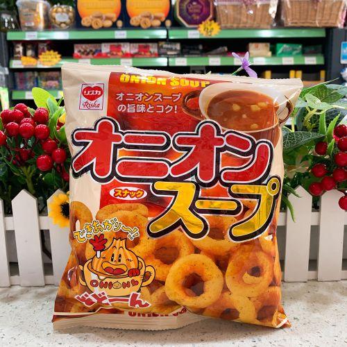 日本域诗卡洋葱汤粟米圈54g(袋装)