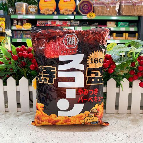 日本湖池屋特盛BBQ粟米条160g(袋装)